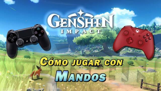 Genshin Impact: ¿Cómo jugar con mando en PC y móviles Android e iOS?