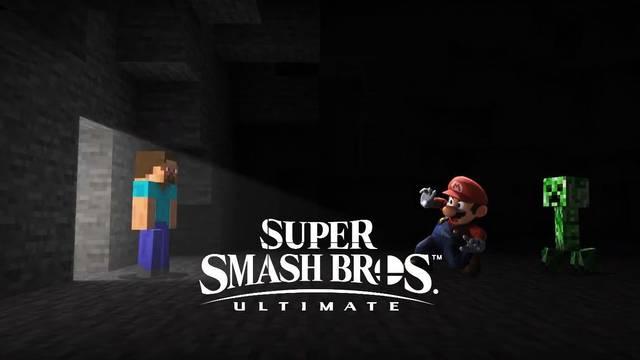 Minecraft llega a Smash