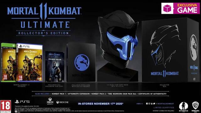 Mortal Kombat 11 Ultimate Kollectors Edition en GAME