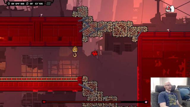 Super Meat Boy Forever muestra su jugabilidad