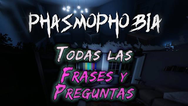 Phasmophobia: TODAS las frases y preguntas para hablar con los fantasmas