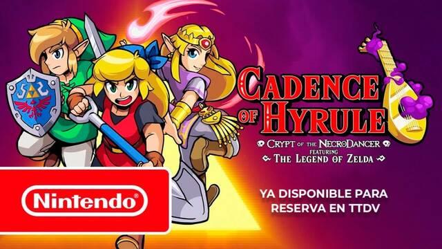 Cadence of Hyrule ya se puede reservar en Tutiendadevideojuegos.