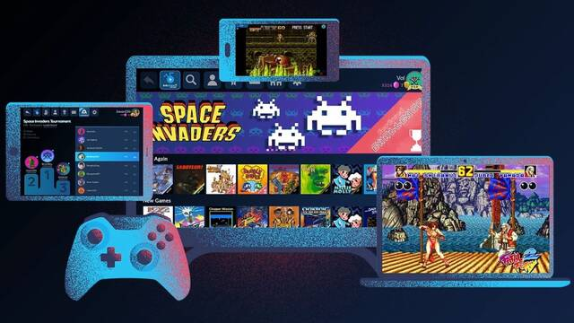 Antstream, la plataforma de streming de juegos retro, ya disponible en España.