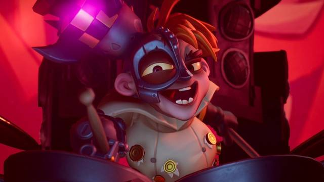 N. Gin en Crash Bandicoot 4: It's about time - Cómo derrotarlo