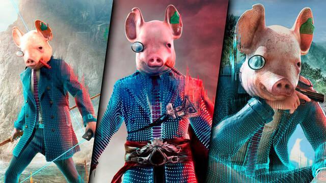 Watch Dogs Legion invade otros juegos de Ubisoft