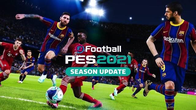 eFootball PES 2021 Season Update y su Data Pack 2.0