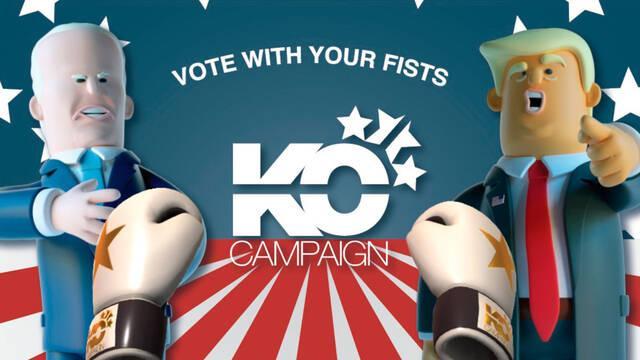KO Campaign, juego móvil Trump y Biden