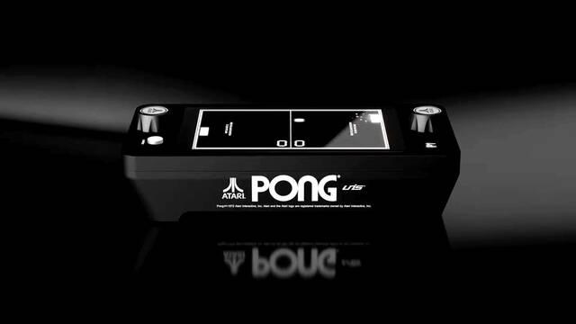 Atari Mini Pong Jr. anuncio