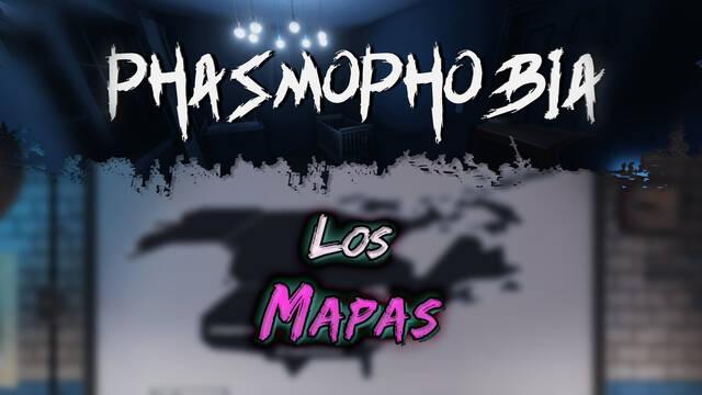 Phasmophobia: Todos los mapas disponibles, detalles y características