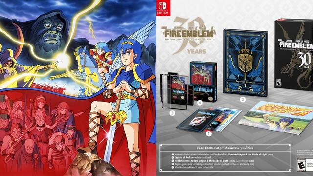 Fire Emblem: Shadow Dragon and the Blade of Light anunciado para Nintendo Switch.