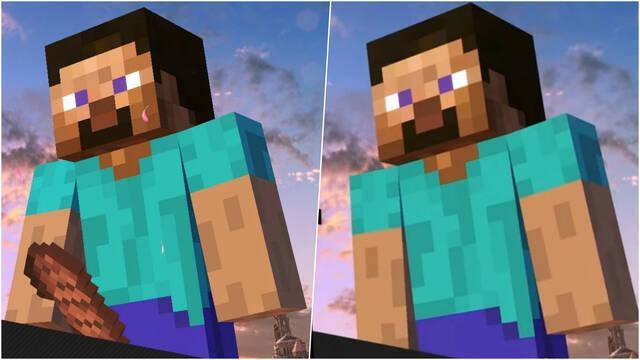 Super Smash Bros. Ultimate Steve Minecraft