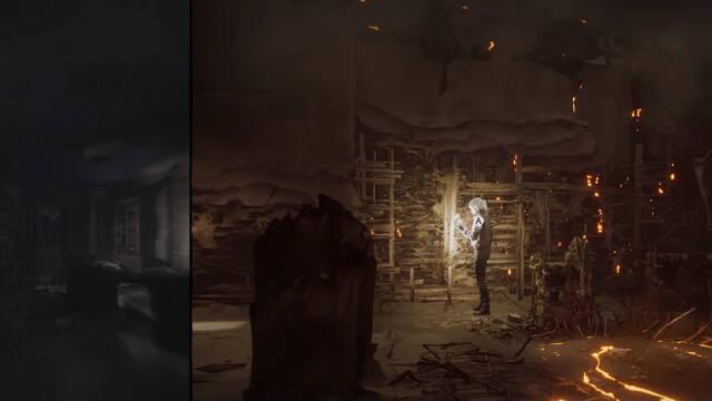 the medium gameplay doble realidad