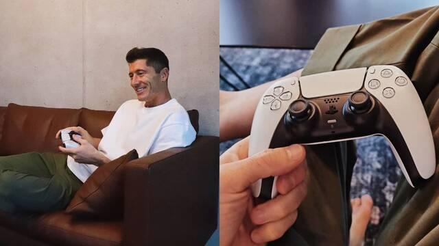 Robert Lewandowski PS5 DualSense