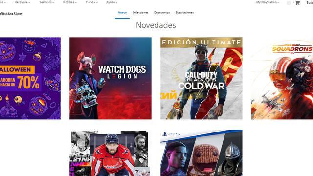 PS Store nuevo diseño