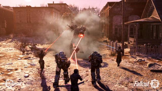 Fallout 76 Hermandad del Acero