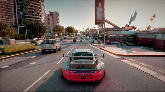 Grand Theft Auto V con ray tracing gracias a un mod.