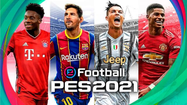 eFootball PES 2021 Mobile ya disponible gratis en iOS y Android