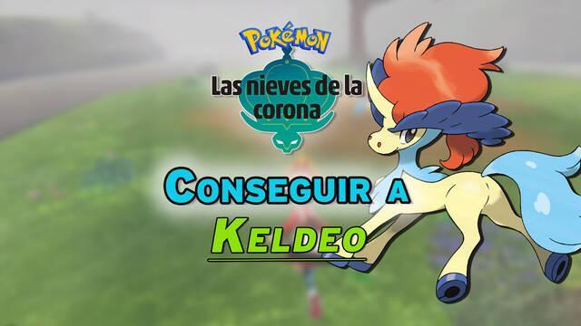 Cómo conseguir a Keldeo en Pokémon: Las Nieves de la Corona