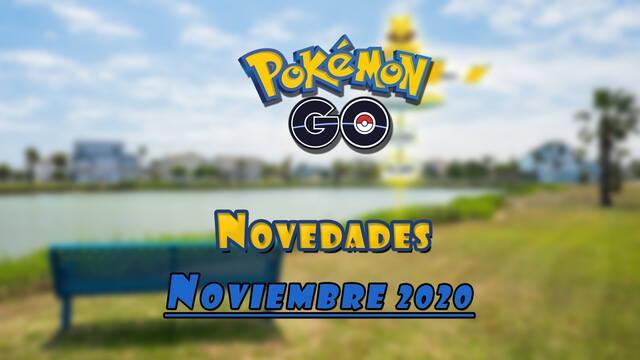 Pokémon Go novedades mes de noviembre 2020
