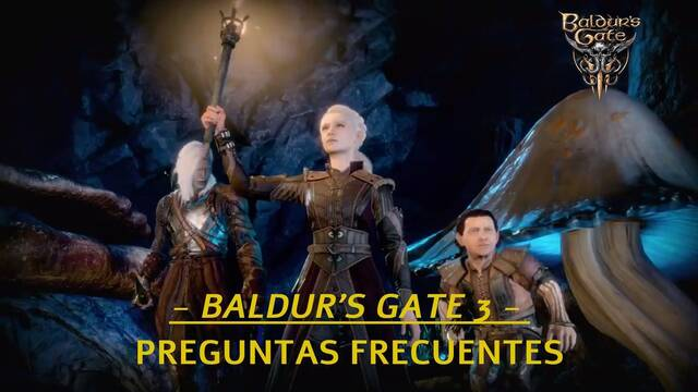 Preguntas frecuentes en Baldur's Gate 3