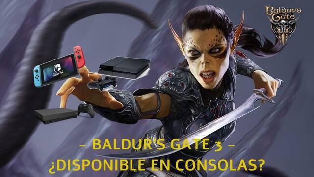 Baldur's Gate 3 - ¿Está disponible en Xbox One, PS4 y Switch?