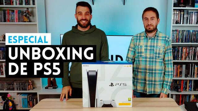 PS5 unboxing vandal