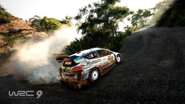 WRC 9 PS5 gameplay vídeo