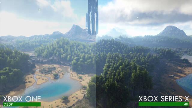 ARK: Survival Evolved en Xbox Series X