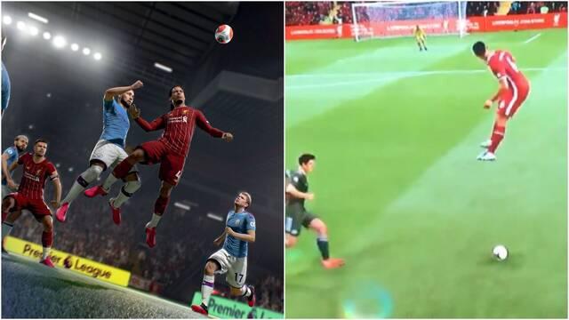 Bug del salto extraño en FIFA 21