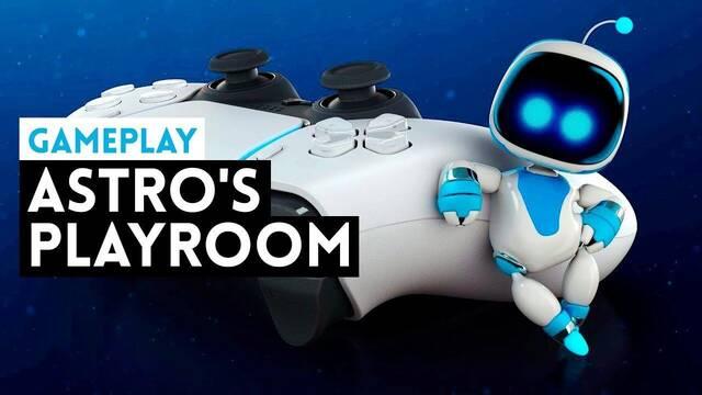 Astro's Playroom y su jugabilidad