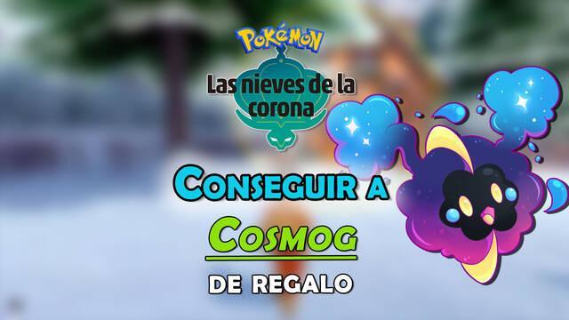 Conseguir a Cosmog en Pokémon: Las Nieves de la Corona