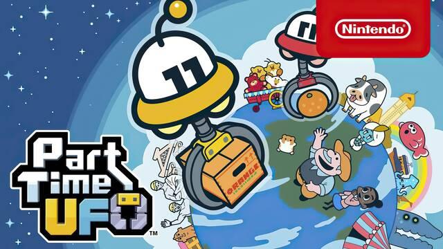 Part Time UFO se estrena hoy en Nintendo Switch con múltiples novedades