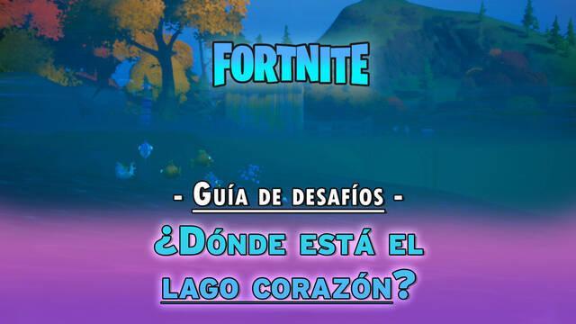 Fortnite: ¿dónde está Lago Corazón? - Semana 10
