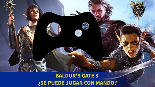 Baldur's Gate 3 - ¿Se puede jugar con mando?