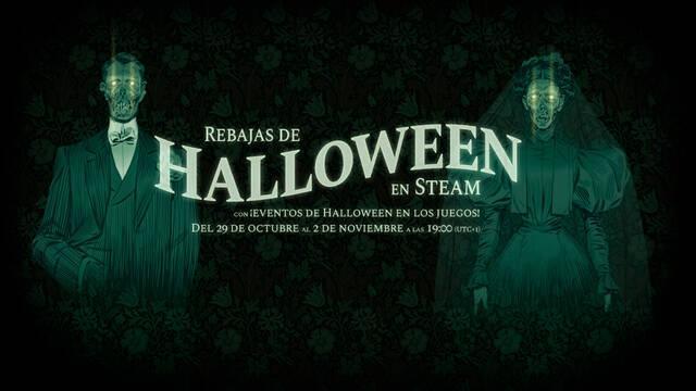 Steam Halloween ofertas descuentos juegos