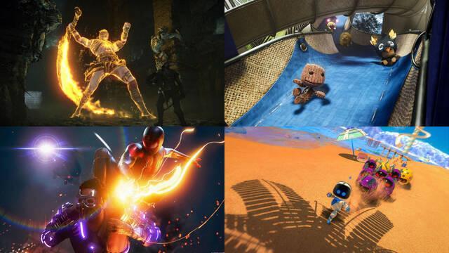 PS5 Juegos lanzamiento exclusivos