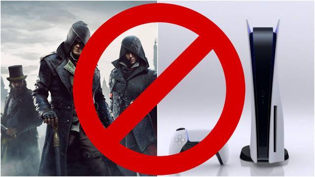 Nueve juegos de Ubisoft no serán retrocomaptibles con PS5