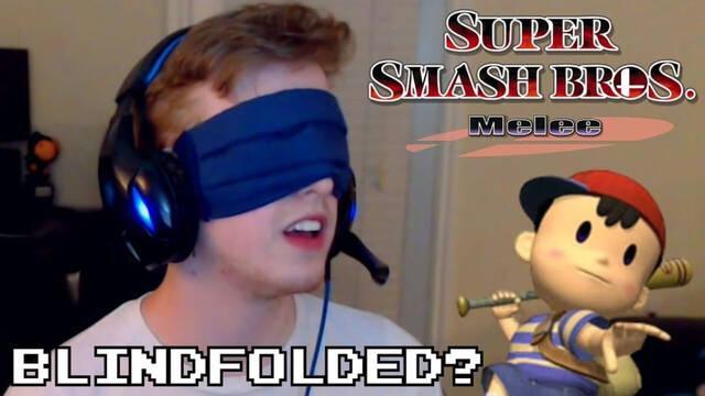 Superan el Modo Aventura de Super Smash Bros. Melee con los ojos vendados y con Ness