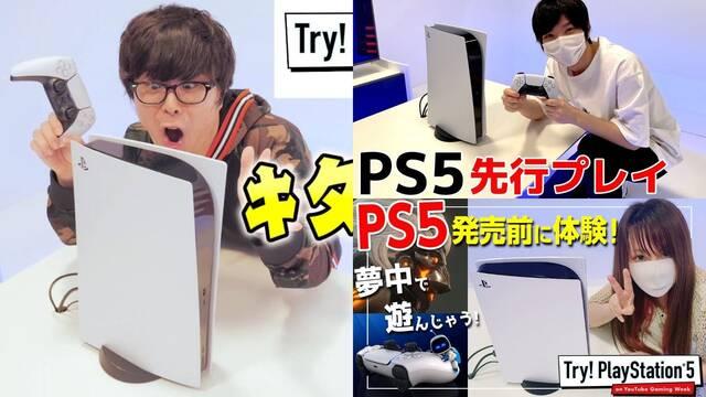 Multitud de YouTubers japoneses nos muestran PS5 y sus primeros juegos