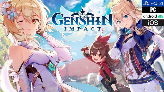 Análisis Genshin Impact, un sorprendente RPG de acción gratuito (PS4,  Switch, PC, iPhone, Android)