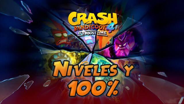 Crash Bandicoot 4: TODOS los niveles al 100%, cajas y secretos