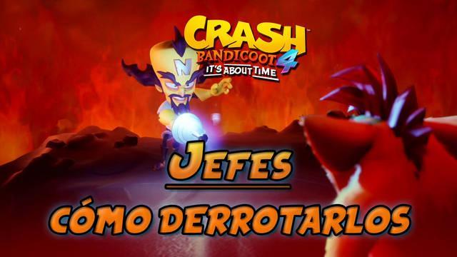 TODOS los jefes de Crash Bandicoot 4: It's about time y cómo derrotarlos
