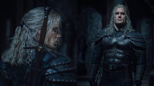 Primer vistazo al Geralt de Rivia de la segunda temporada de The Witcher de Netflix.
