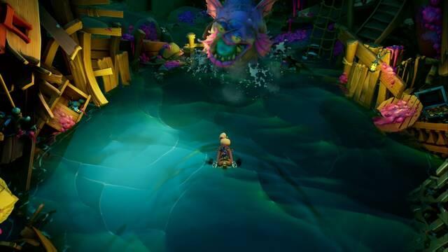 Louise en Crash Bandicoot 4: It's about time - Cómo derrotarlo