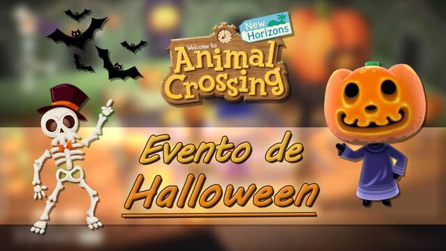Halloween en Animal Crossing NH: Chuches, calabazas, recetas y recompensas