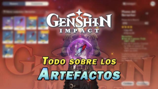 Todos los Artefactos en Genshin Impact: cómo conseguirlos y bonificaciones