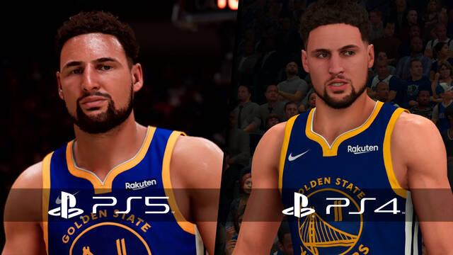 NBA 2K21 PS5 y PS4 nueva generación comparativa