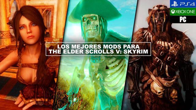 Los mejores mods para The Elder Scrolls V: Skyrim (2021)
