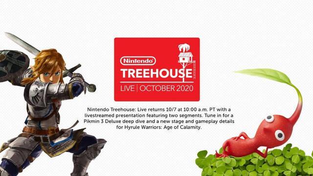 Nintendo Treehouse Hyrule Warriors Pikmin 3