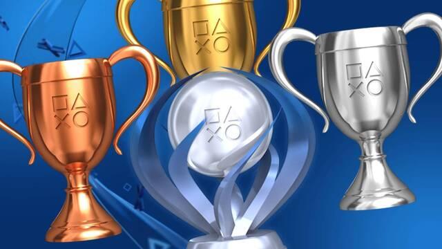 Nuevo sistema de trofeos de PS4 y PS5.